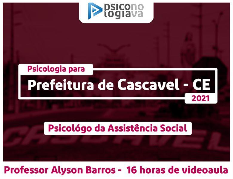 [Prefeitura de Cascavel Ceará - Psicólogo da Assistência Social]